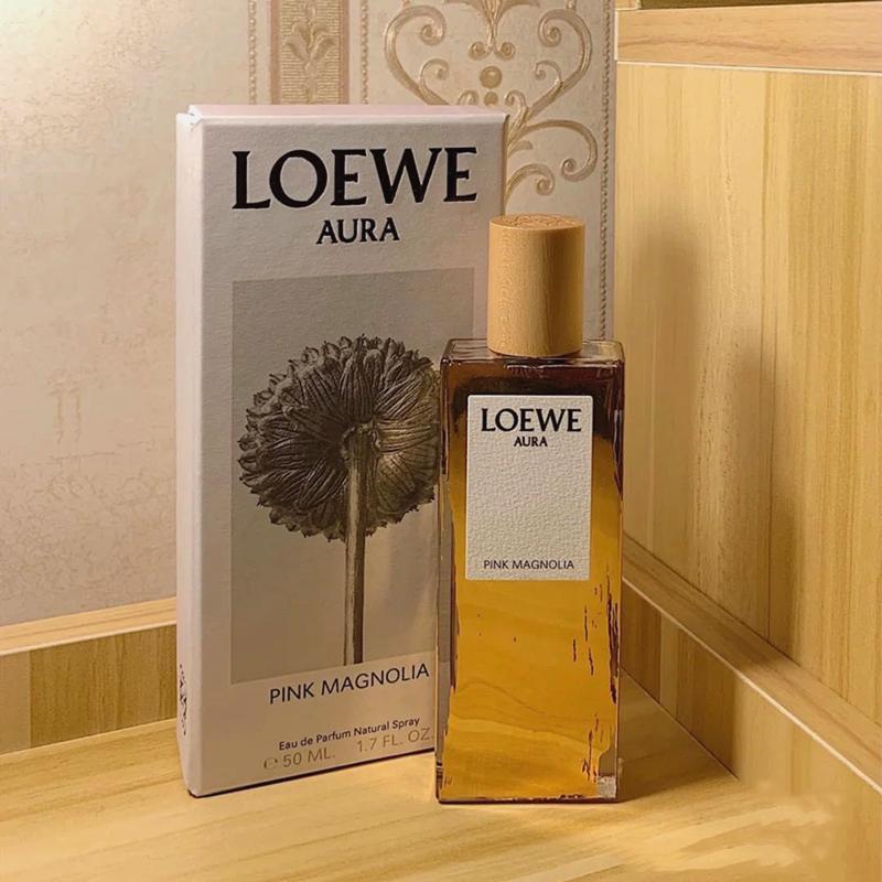 新品特价 罗意威Loewe光之缪斯Aura粉色木兰花Pink Magnolia香水